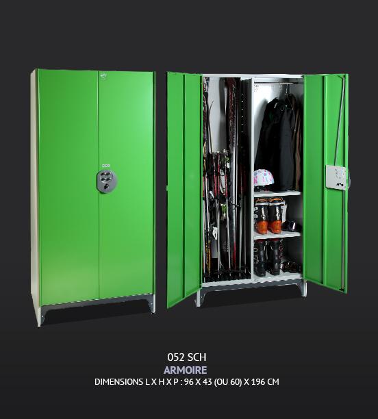 armoires mtalliques top armoires mtalliques meubles de rangement actiu with armoires mtalliques. Black Bedroom Furniture Sets. Home Design Ideas