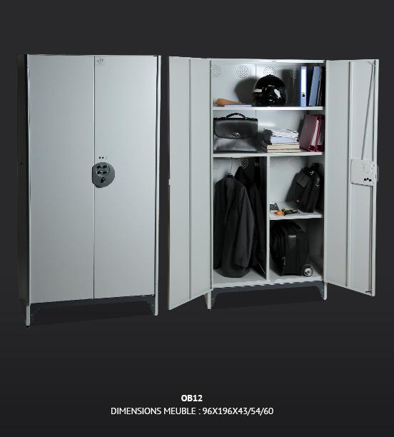 armoire d 39 atelier m tallique pour rangement. Black Bedroom Furniture Sets. Home Design Ideas
