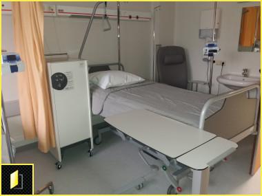 Vestiaires ambulatoires à codes pour patients