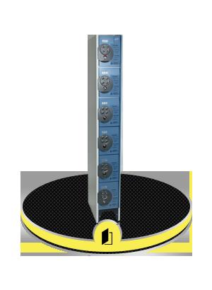 Mini casiers consignes avec serrures à codes