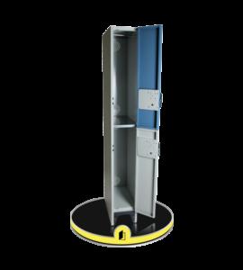 Armoire vestiaire deux portes sécurisée