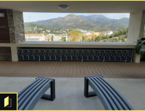 180 casiers élèves à codes pour l'université Pascal Paoli de Corse