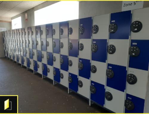 100 casiers scolaires à codes au Collège Saint-André de Bordeaux