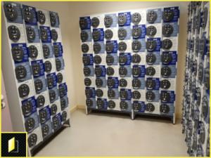 Mini-consignes à codes pour la dépose de téléphones au sein du CHU de Grenoble